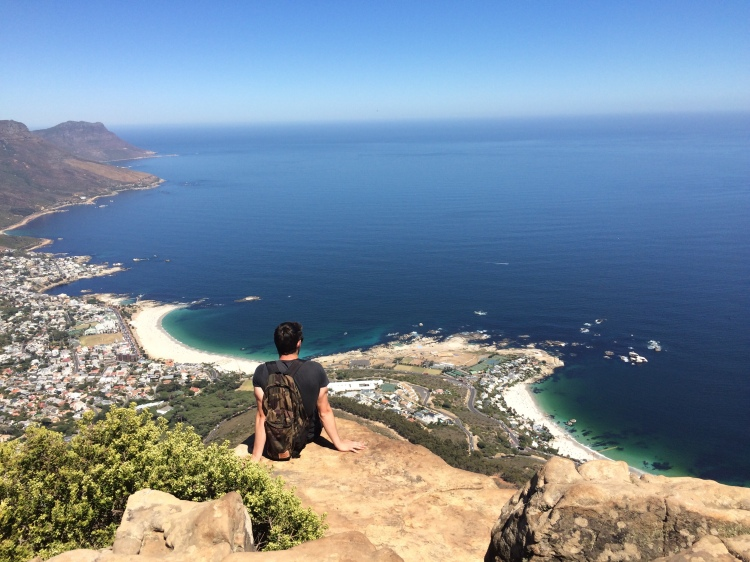 Overlooking Camps Bay
